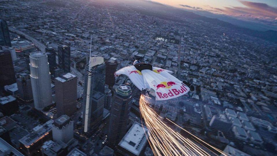 Red Bull skydiver   Andy Farrington/Red Bull Content Pool