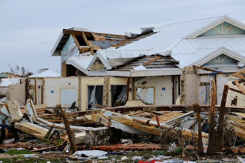 Damage in the aftermath of Hurricane Dorian on the Great Abaco island town of Marsh Harbour, Bahamas, Sept. 3, 2019. (Photo: Dante Carrer/Reuters)