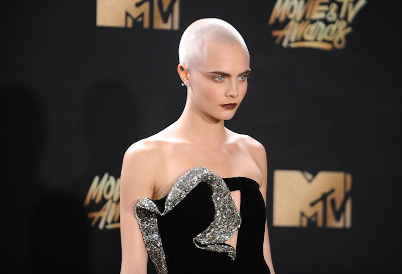 """When rumours were circulating&nbsp;that Delevingne was going to quit modelling, she tweeted: """"<a href=""""http://www.huffingtonpost.co.uk/entry/cara-delevingne-depression-twitter_uk_56fe2150e4b069ef5c0015b2"""">I suffer from depression</a>&nbsp;and was a model during a particularly rough patch of self hatred.<br /><br />""""I am so lucky for the work I get to do, but I used to work to try and escape and just ended up completely exhausting myself.<br /><br />""""I am focusing on filming and trying to learn how to not pick apart my every flaw. I am really good at that."""""""