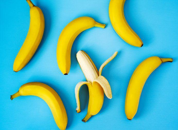 <p>Bananas are super cheap, hella filling, and perfect to grab on your way to class. Your library coffeeshop definitely sells these bad boys, so you can stock up without ever having to find a ride to the grocery store. </p>