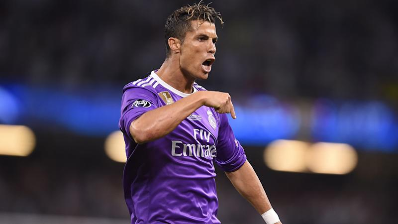 Real Madrid's Florentino Perez describes Cristiano Ronaldo as