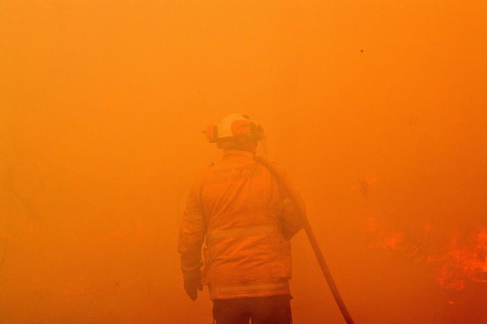 Volunteers make up the backbone of Australia's rural fire services. Source: Getty