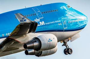 KLM Boeing 747 aircraft