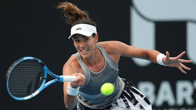 A viral illness forced Garbine Muguruza to pull out of the Hobart international but she hopes to be fit for the Australian Open.