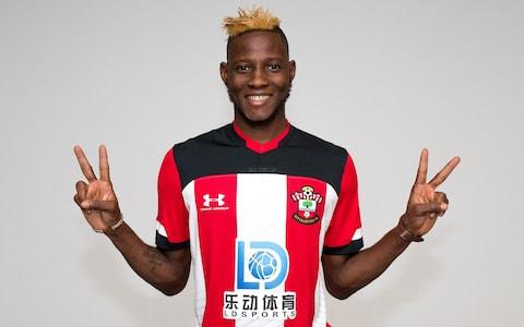 Ralph Hasenhüttl has made the Standard Liège winger Moussa Djenepo his first signing at Southampton for a fee of £14m - Credit: GETTY IMAGES