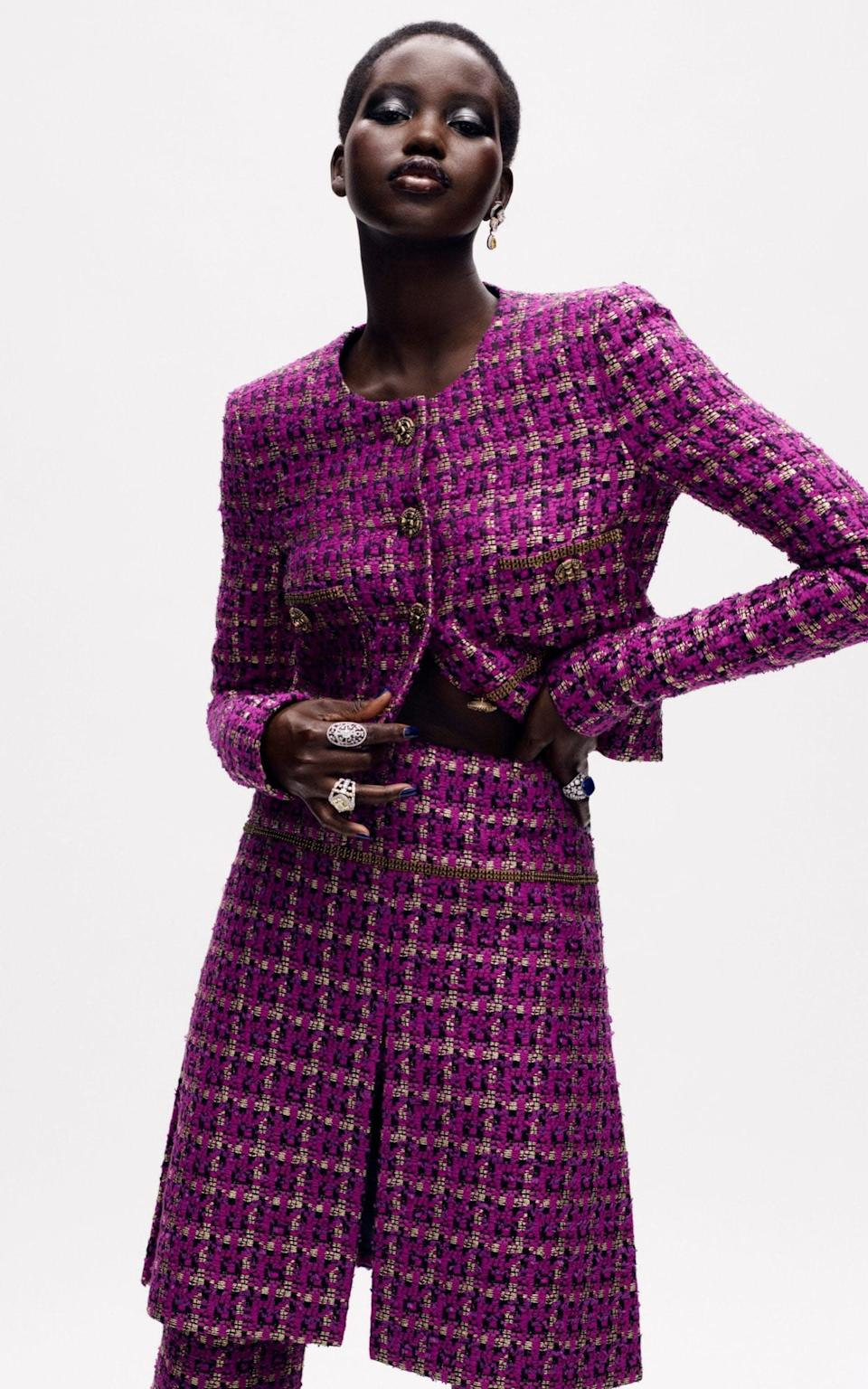 chanel couture adut akech - Mikael Jansson