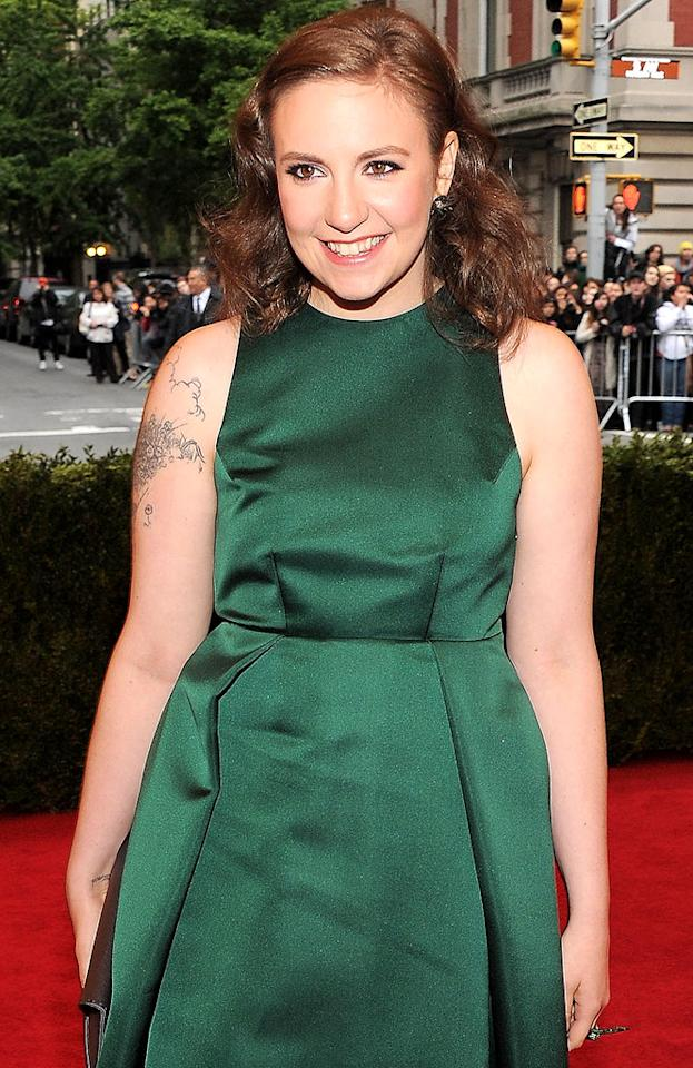 "Lena Dunham (""Girls"") turns 26 on May 13."