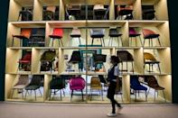 Italy's furniture industry suffered in 2020 with turnover falling 8.9 percent to 21.2 billion euros (AFP/MIGUEL MEDINA)