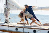 """<p>You don't have to leave Greece once you finish <em>Mamma Mia</em>. Just ease right into the sequel/prequel, which features somehow even grander oceanside scenes, and drool over the truly stunning hotel that Sophie (Amanda Seyfried) has in the 10 years since the events of the first movie.</p> <p><a href=""""https://www.amazon.com/Mamma-Mia-Movie-Meryl-Streep/dp/B009CGGCSC/ref=sr_1_2?crid=7B1GL4DW913C&dchild=1&keywords=mamma+mia+here+we+go+again+movie&qid=1593113997&s=instant-video&sprefix=mamma+mi%2Cinstant-video%2C158&sr=1-2"""" rel=""""nofollow noopener"""" target=""""_blank"""" data-ylk=""""slk:Available to rent on Amazon Prime Video"""" class=""""link rapid-noclick-resp""""><em>Available to rent on Amazon Prime Video</em></a></p>"""