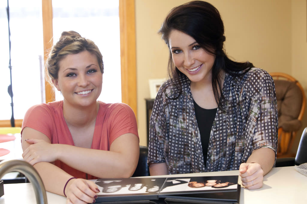 "Sister Willow and Bristol Palin in the new Lifetime docuseries, ""Bristol Palin: Life's a Tripp."""