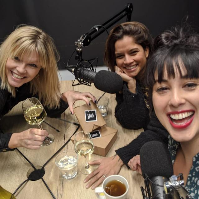 Dilly Carter and Melissa Hemsley appear on the latest episode of White Wine Question Time