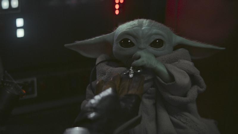 Baby Yoda was the breakout star of 'The Mandalorian' in Season 1 (Photo: Disney+)