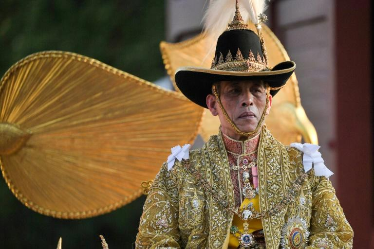King Maha Vajiralongkorn ascended the throne in 2016 following the death of of his long-reigning father Bhumibol Adulyadej