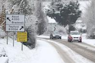 Snowy conditions in Touchen-End, Berkshire. Picture date: Sunday January 24, 2021. (Photo by Jonathan Brady/PA Images via Getty Images)