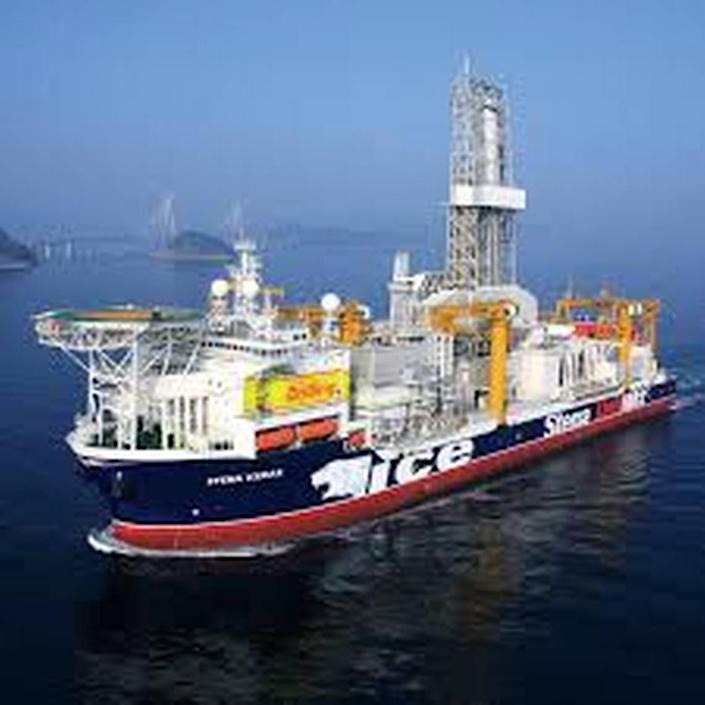 The Stena IceMAX drilling ship is scheduled to arrive in the Bahamas just before Christmas to start work on an exploratory well.