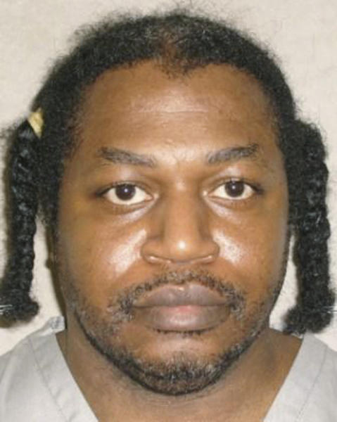 FILE - This June 29, 2011 file photo provided by the Oklahoma Department of Corrections shows Charles Warner. Warner is one of is one of two Oklahoma death row inmates scheduled to be executed who have sued state corrections officials to obtain details about the lethal drugs that will be used to execute them, including their source. (AP Photo/Oklahoma Department of Corrections, File)