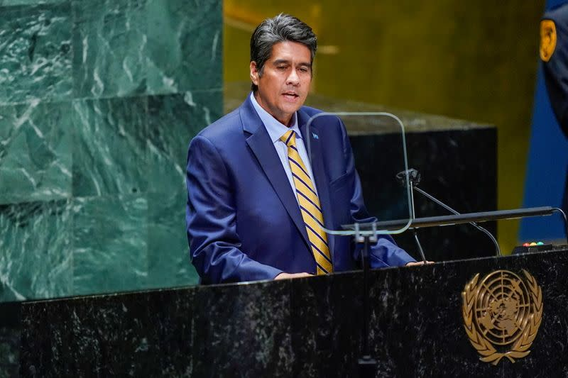 FILE PHOTO: 76th Session of the General Assembly at UN Headquarters in New York