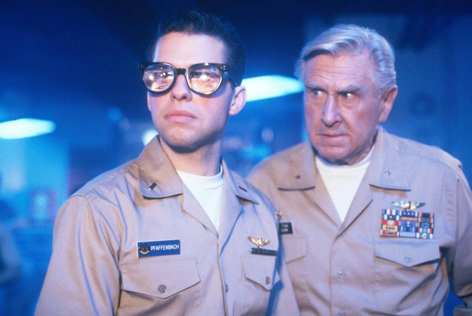 A still from the 1991 hit spoof Hot Shots! (20th Century Fox)
