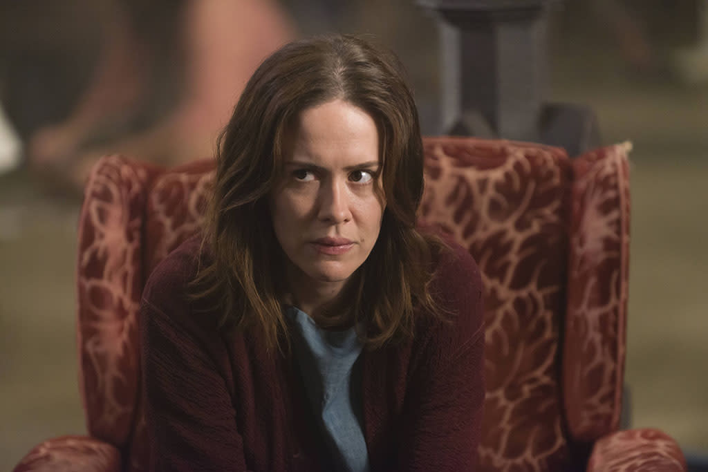 """Sarah Paulson as Lana Winters in the """"American Horror Story: Asylum"""" episode, """"The Name Game."""""""