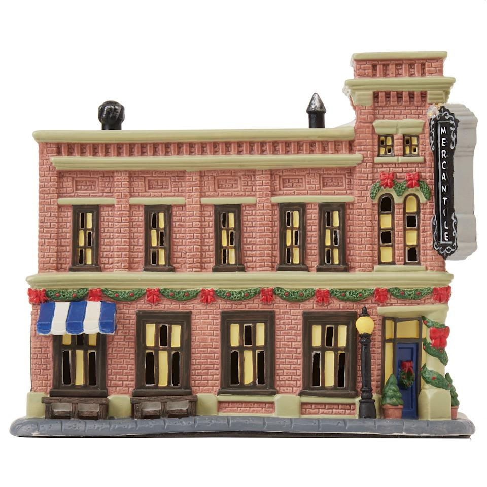 The Pioneer Woman Christmas Village Decoration, Mercantile Shop (Walmart / Walmart)