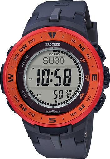 "<p><strong>Casio</strong></p><p>casio.com</p><p><strong>$99.00</strong></p><p><a href=""https://www.casio.com/products/watches/pro-trek/prg330-4a"" rel=""nofollow noopener"" target=""_blank"" data-ylk=""slk:Shop Now"" class=""link rapid-noclick-resp"">Shop Now</a></p><p> If you dig a bit of a retro look and want to stretch your dollars, this Casio watch is by far the easiest on your bank account. </p><p>It stills performs, though, featuring altitude tracking, sunset predictions, and a built-in compass. Unlike other options on the list, it can't exactly track a hike start-to-finish, but you can figure out your altitude gains pretty easily.</p><p>Since this one is waterproof at depths of up to 100 meters, you can cool down mid-hike at a waterfall or lake without worrying about your watch getting wet. <em>Phew</em>!</p>"