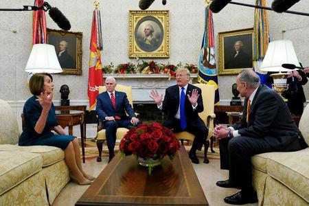 Trump Democrats spar over government shutdown with no deal in sightMore
