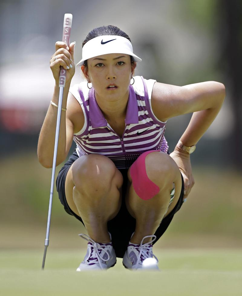 Wie holds share of lead at US Women's Open