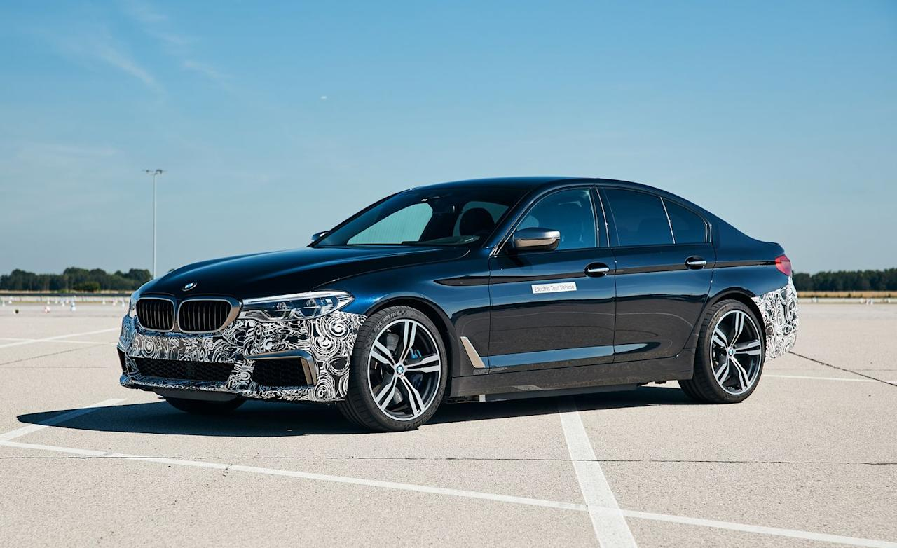 View Photos of the BMW 5-Series Power BEV