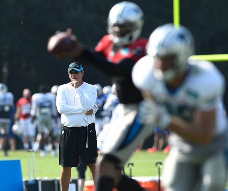 Carolina Panthers head coach Ron Rivera will become the team's winningest coach in history with three wins in the 2019 season.