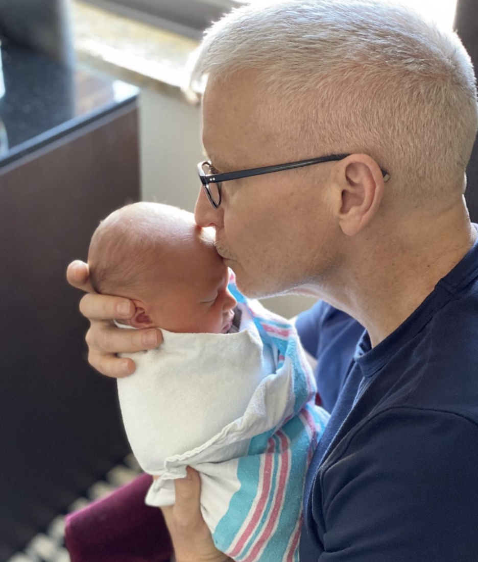 "<p>Anderson Cooper welcomed his son, Wyatt, into the world this April. ""As a gay kid, I never thought it would be possible to have a child,"" he shared in an <a href=""https://www.instagram.com/p/B_oKGL9BYs1/"" rel=""nofollow noopener"" target=""_blank"" data-ylk=""slk:Instagram post"" class=""link rapid-noclick-resp"">Instagram post</a>. ""I'm grateful for all those who have paved the way."" </p>"