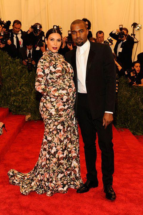Kim Kardashian and Kanye West at the Met Gala this year. Credit: Getty Images