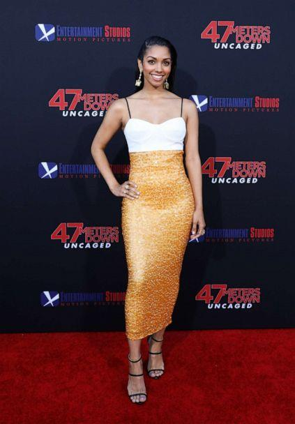 PHOTO: Actress Corinne Foxx attends the LA premiere of '47 Meters Down Uncaged' the at Regency Village Theatre on August 13, 2019 in Westwood, California. (Paul Archuleta/FilmMagic/Getty Images)