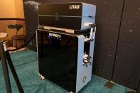FILE PHOTO: A pilot-sized direct lithium extraction unit developed by Energy Exploration Technologies Inc