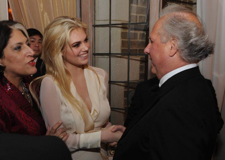Graydon Carter is partially to blame! Vanity Fair started throwing a big party (with Bloomberg) and the shindig, hosted by the editor-in-chief, always draws a star-studded crowd, including Kate Upton in 2012. There will be no party this year. (Photo: Getty Images)