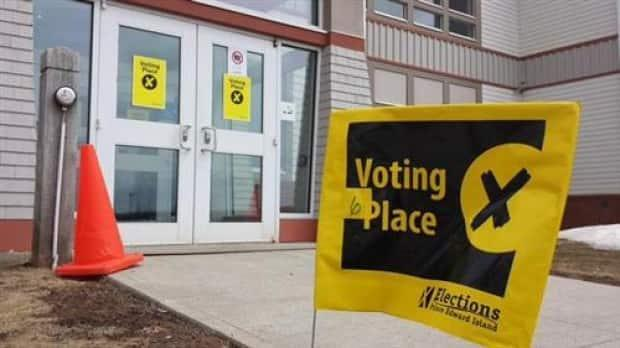 An Elections Canada polling station. (CBC News - image credit)