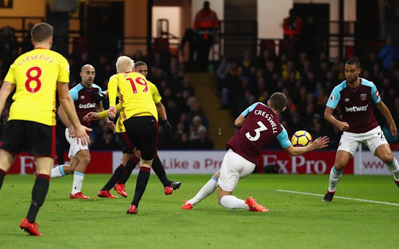 Will Hughes fires Watford into an early lead - Getty Images Europe