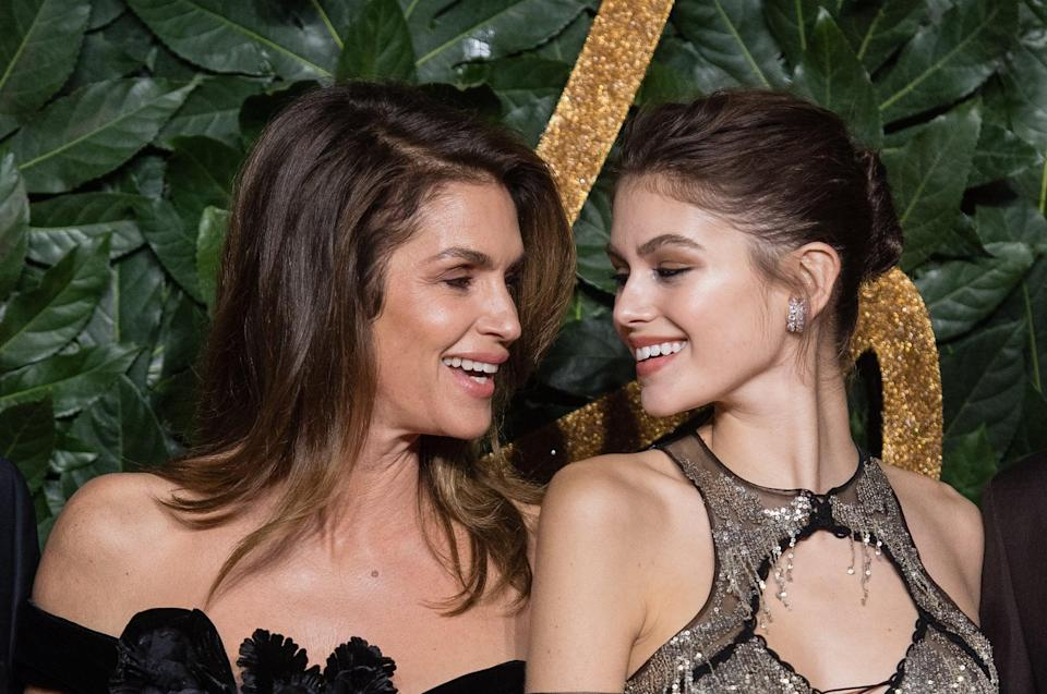 The Beauty Lesson Kaia Gerber Learned From Mom Cindy Crawford