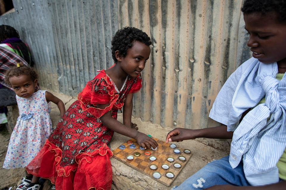 Ethiopia Tigray Crisis Refugees' Plight (Copyright 2021 The Associated Press. All rights reserved)