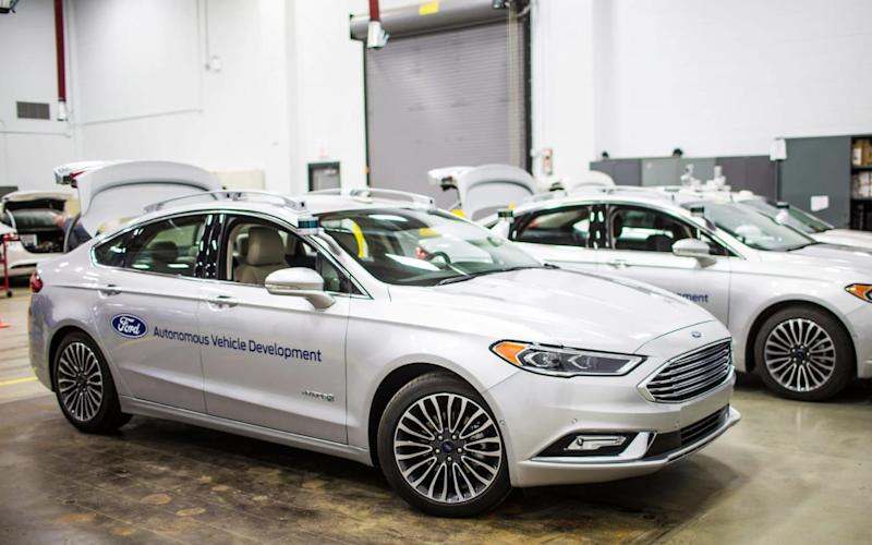 Ford's autonomous vehicle division - Ford