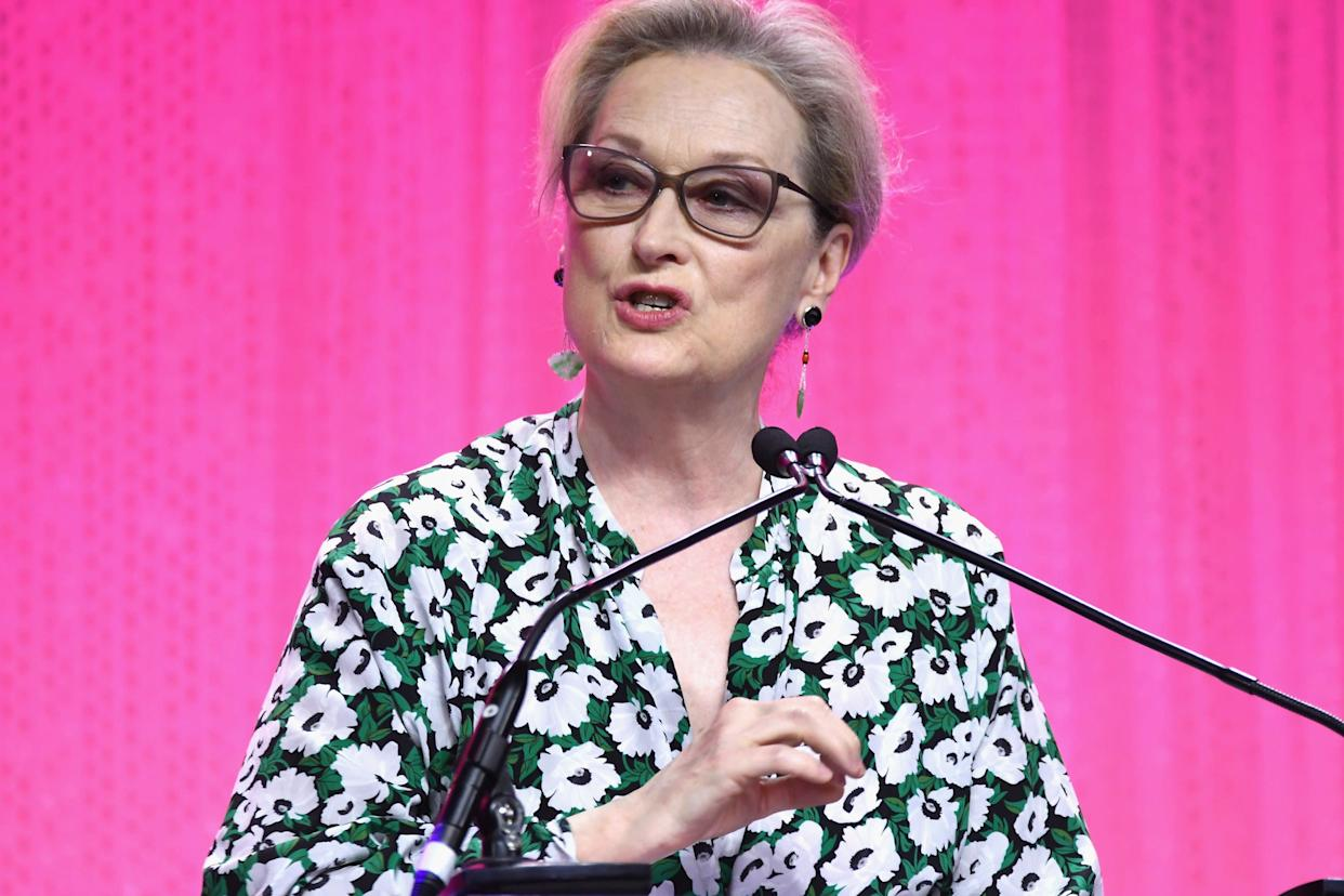 "<a href=""https://www.huffingtonpost.com/entry/meryl-streep-harvey-weinstein_us_59db5d87e4b072637c45420e"" rel=""nofollow noopener"" target=""_blank"" data-ylk=""slk:Meryl Streep told HuffPost"" class=""link rapid-noclick-resp"">Meryl Streep told HuffPost</a> that the women who came forward about Weinstein's behavior&nbsp;are ""heroes.""<br><br>&ldquo;The disgraceful news about Harvey Weinstein has appalled those of us whose work he championed, and those whose good and worthy causes he supported,"" she said in a statement.&nbsp;"