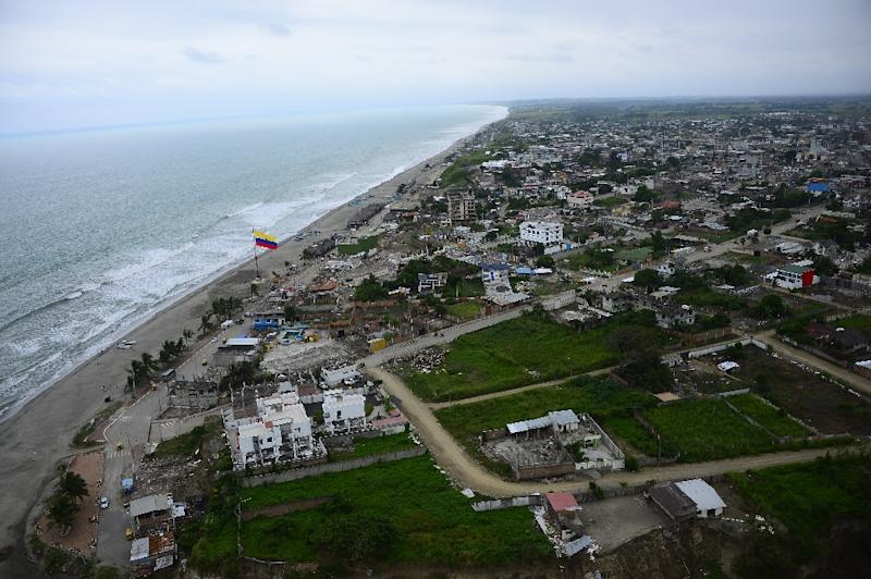 Strong earthquake in Ecuador shakes coastal area
