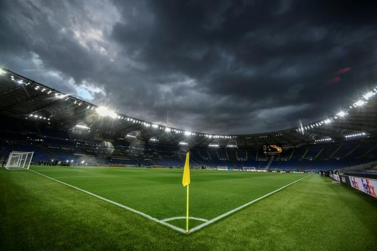 Fans are retuning to football stadiums in Italy.