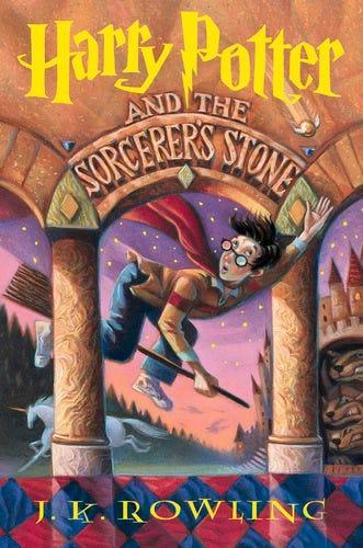 """""""Harry Potter and the Sorcerer's Stone,"""" by J.K. Rowling"""