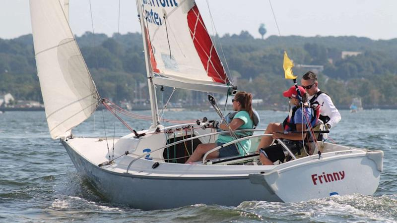 'A whole new world of freedom': Sailors with disabilities compete at an elite level