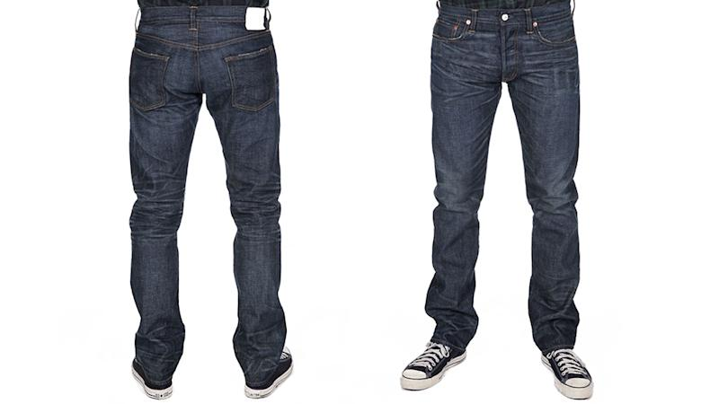 Ron Herman 01 (Slim Leg Fit) in a Huron (wash) style is crafted in Los Angeles from Japanese denim ($350)