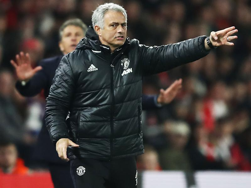 Jose Mourinho believes Ajax should have been eliminated from European competion earlier in the season: Getty