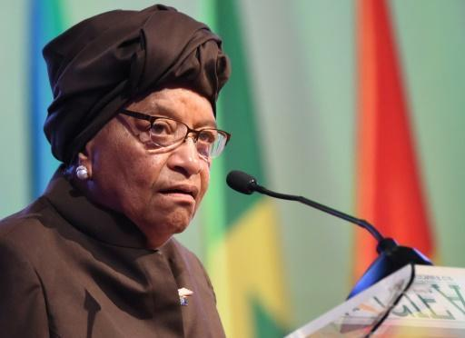 Liberia's Sirleaf to campaign for female candidates in election