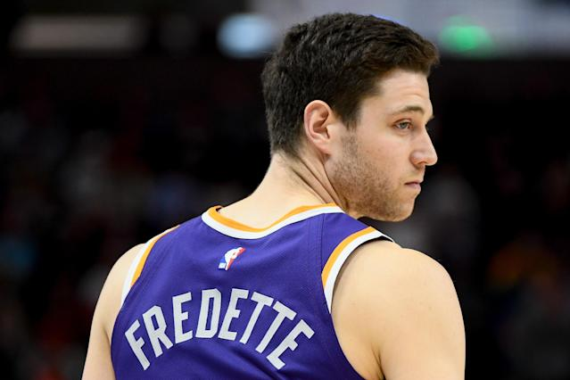 Jimmer Fredette left the Warriors summer league team after two games. (Getty)