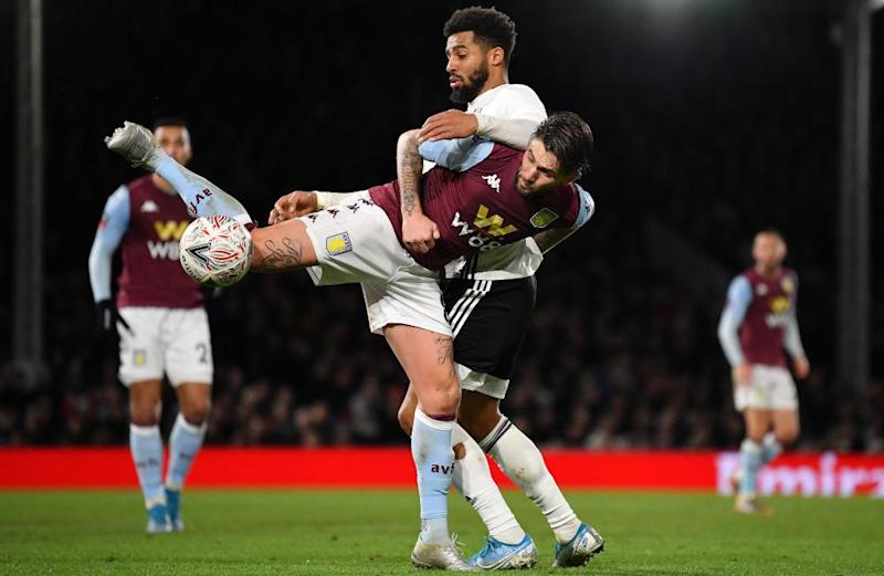 Aston Villa's XI for their FA Cup defeat at Fulham included Henri Lansbury, above, who has started two Premier League games this season.