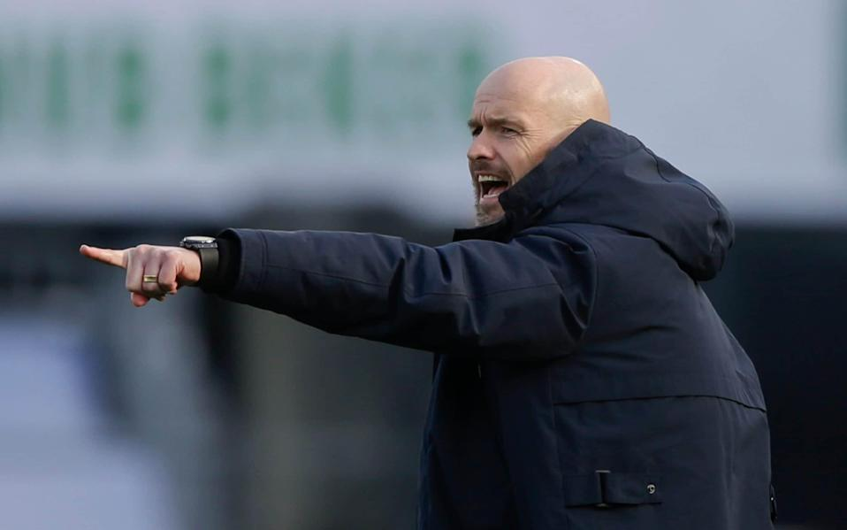 Ten Hag will only have a year remaining on his Ajax contract at the end of the season - AP